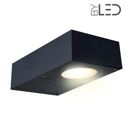 Applique LED murale extérieure anthracite - 6W - 230V - TRACK