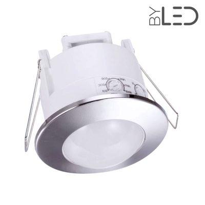 Détecteur de mouvement infrarouge encastrable blanc - Groom GR-03