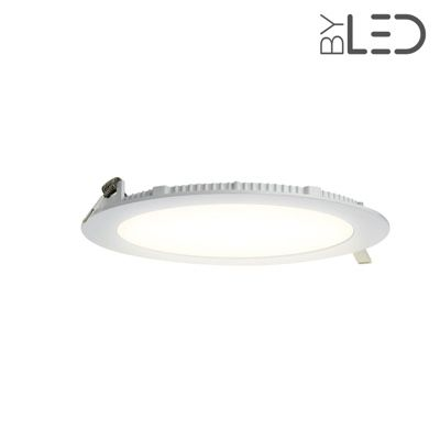 Dalle LED ronde 15 W encastrable - extra plate - SUNNY-15