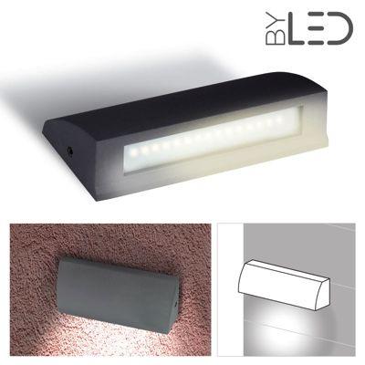 Lampe Led Murale Extra Plate 35w Led Extérieur Byledfr