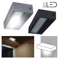 Applique LED murale étanche rectangulaire 12W - 230V - KRISS-12