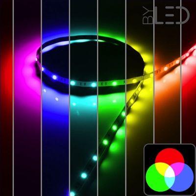 Ruban LED RGB étanche Et Immergeable Epistar 5050 IP68   ByLED.fr®