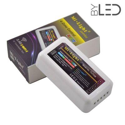 Contrôleur 4 zones RGB + Blanc 2.4GHz - Milight