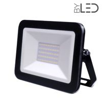 Projecteur LED ultra plat 30W Noir - Shape