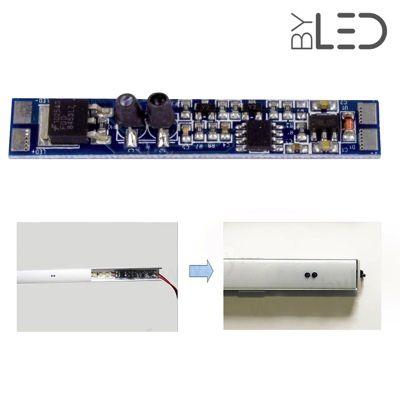 Détecteur sans contact de porte/mains pour profilé ruban LED