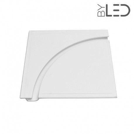 Profil arrondi ¼ de cercle en plâtre pour ruban LED – STAFF