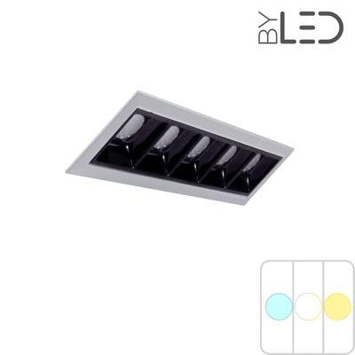 Spot LED encastrable linéaire Noir 10W - Linea