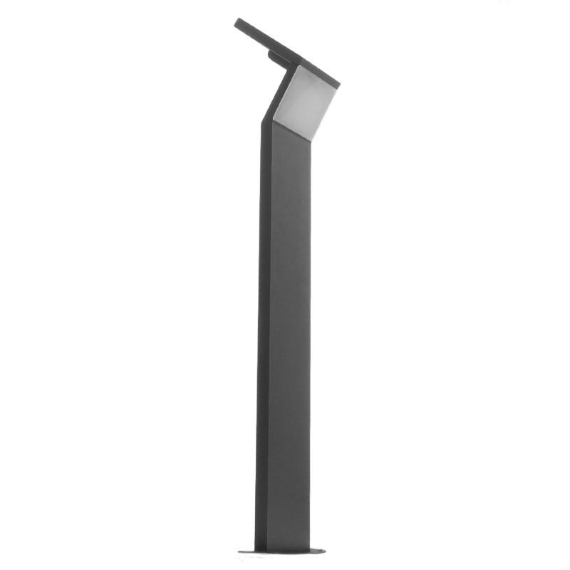 ... Borne de jardin solaire LED - 80 cm – Gris anthracite – 3W - Eclairage  Jardin ... 5b6b7788672b