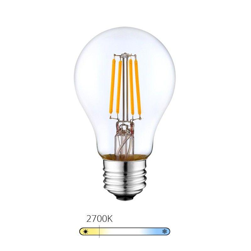 ampoule led filament goutte blanc chaud 6w e27. Black Bedroom Furniture Sets. Home Design Ideas