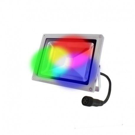 Projecteur LED 24V 20W - Titan 20 RGB