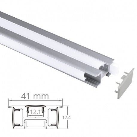 Profilé LED aluminium 3 Directions - CRAFT - M03