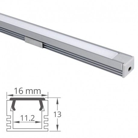 Profilé aluminium pour ruban LED - CRAFT - C02