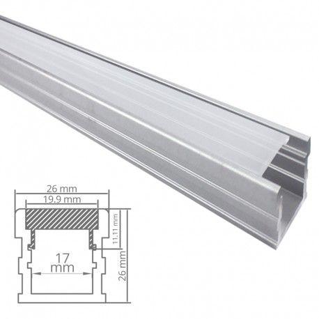 Profilé LED aluminium sol renforcé - CRAFT - F03