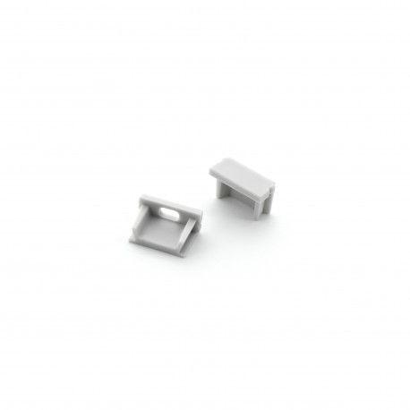 Embouts de finition pour profilé C01 Alu ou Blanc