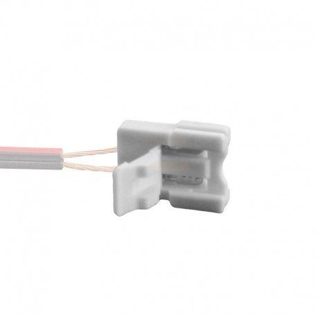 Connecteur ruban LED Mono 8 mm Click à sertir