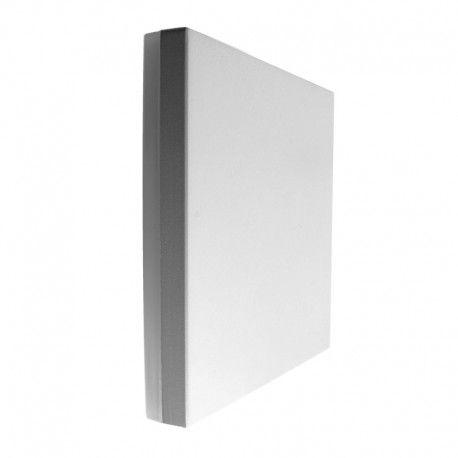 Applique murale carrée - Anthracite - IP54 - 10W - Blanc - PURES-C