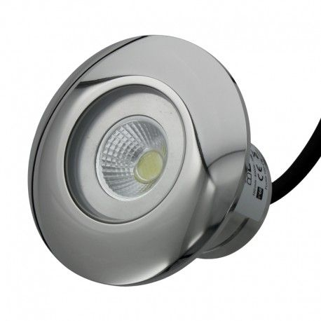 Projecteur piscine buse inox 100mm - CW –10W – 12VAC/DC – IP68