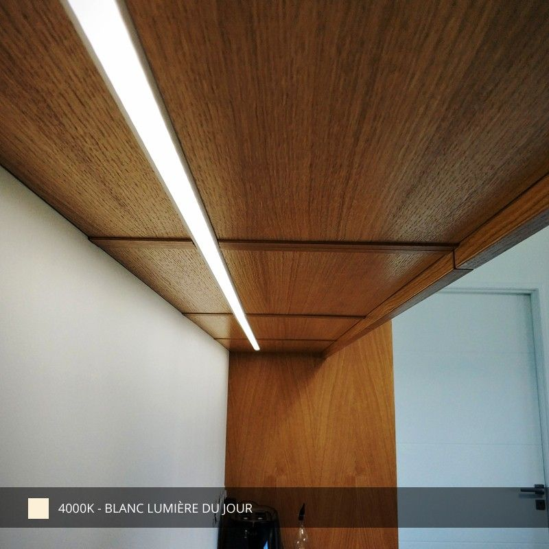 Profilé Aluminium Encastrable Pour Ruban Led Craft E03