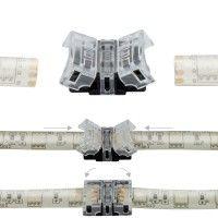 Jonction rapide ruban LED RGB IP65 - 4p