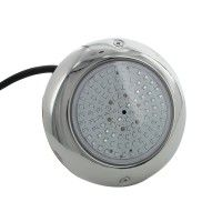 Projecteur piscine plat inox 150mm - RGB – 15W – 12VDC – IP68 – PWM