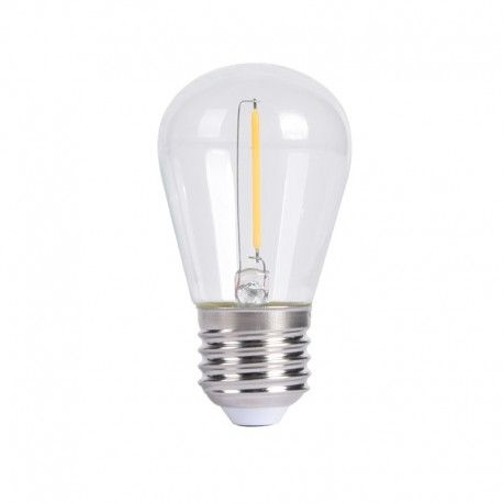 Ampoule LED à filament Mini S14 – E27 – 1W