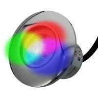 Projecteur piscine buse inox 100 mm - RGB – 6W – 12VDC – IP68 – PWM
